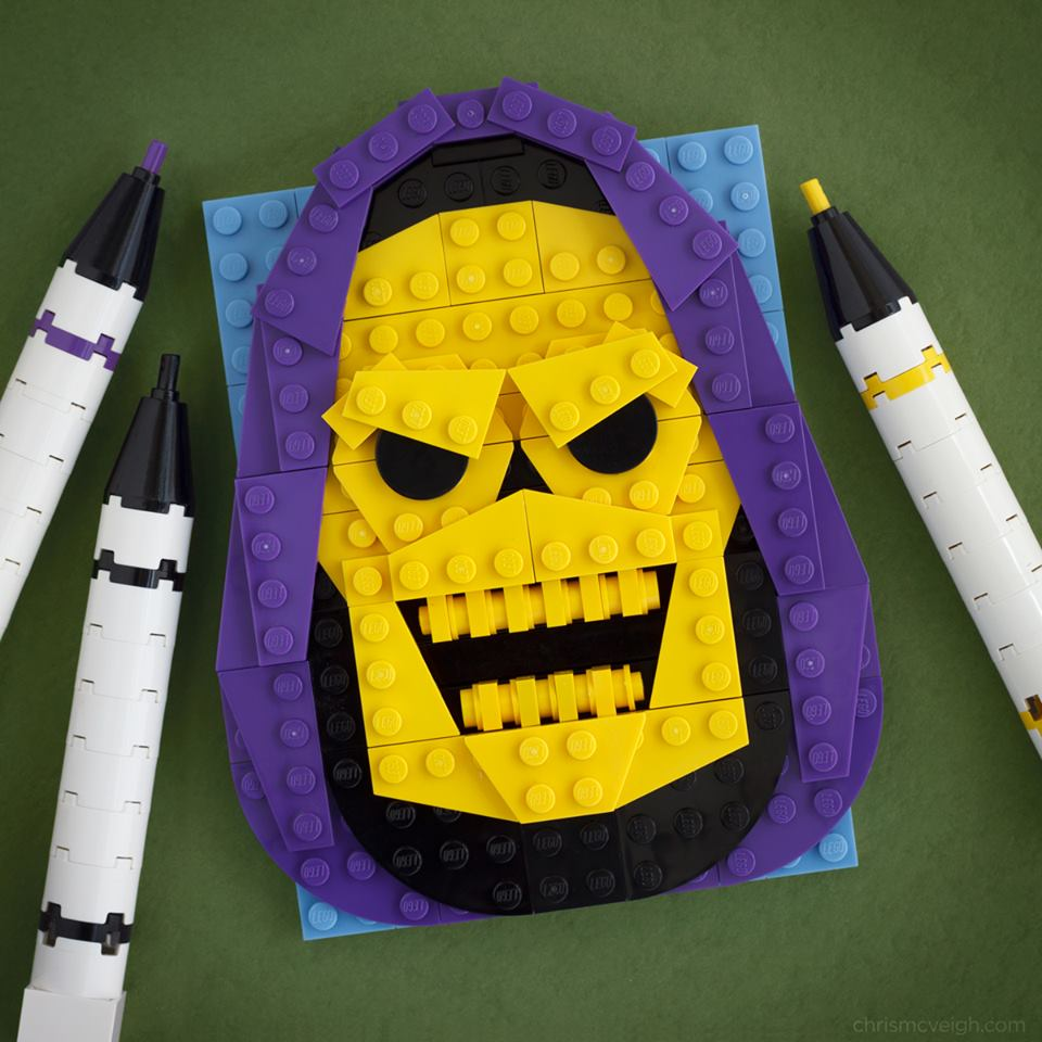 The Creative Lego Builds of Chris McVeigh - Digital Art Mix