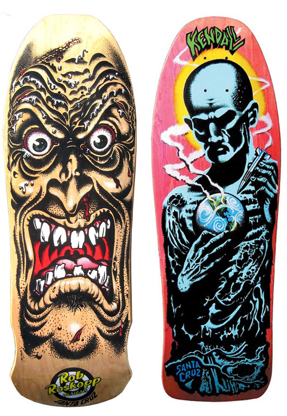 Santa Cruz Toyota >> Santa Cruz Skateboard Art by Jim & Jimbo Phillips