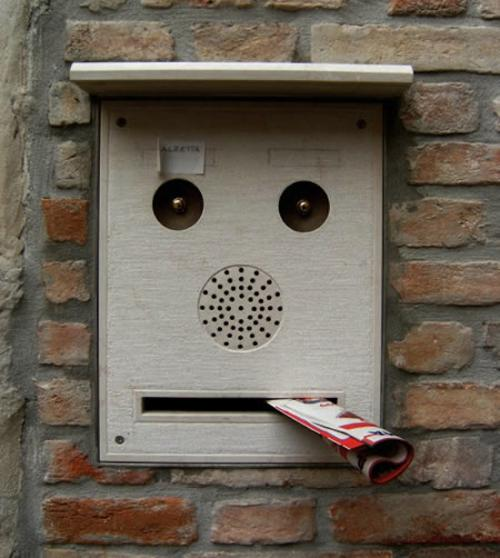 You are Being Watched! Faces on Everyday Objects - Girly Design Blog