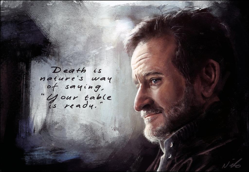 A tribute to robin williams in art and quotes for The garden designer robin williams