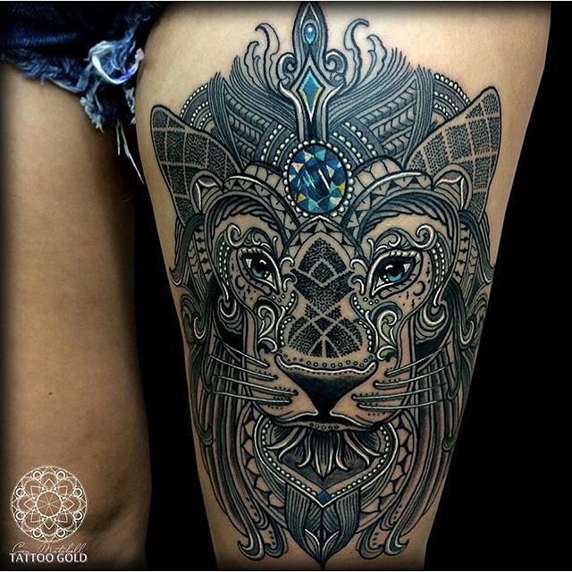 48 Geometrically Pleasing Tattoos - Digital Art Mix