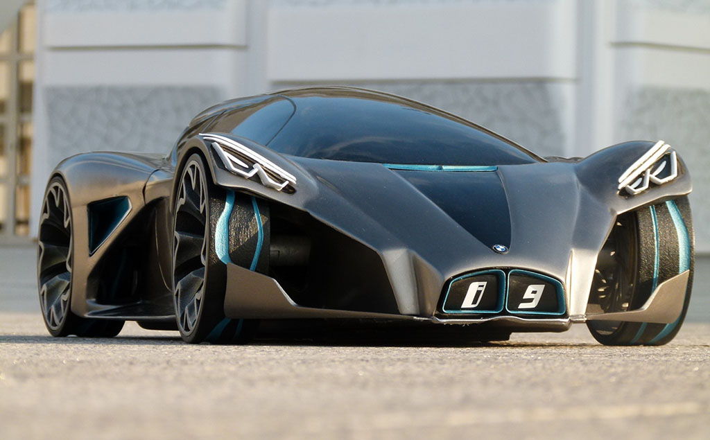 10 Ridiculously Awesome Concept Cars - Digital Art Mix
