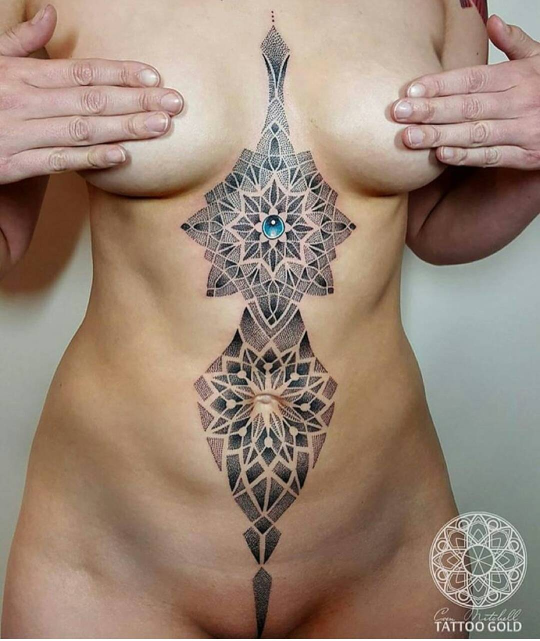 Naked girls tatoo design think, you