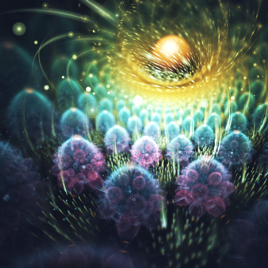 Amazing Art Design : Beautiful fractal art