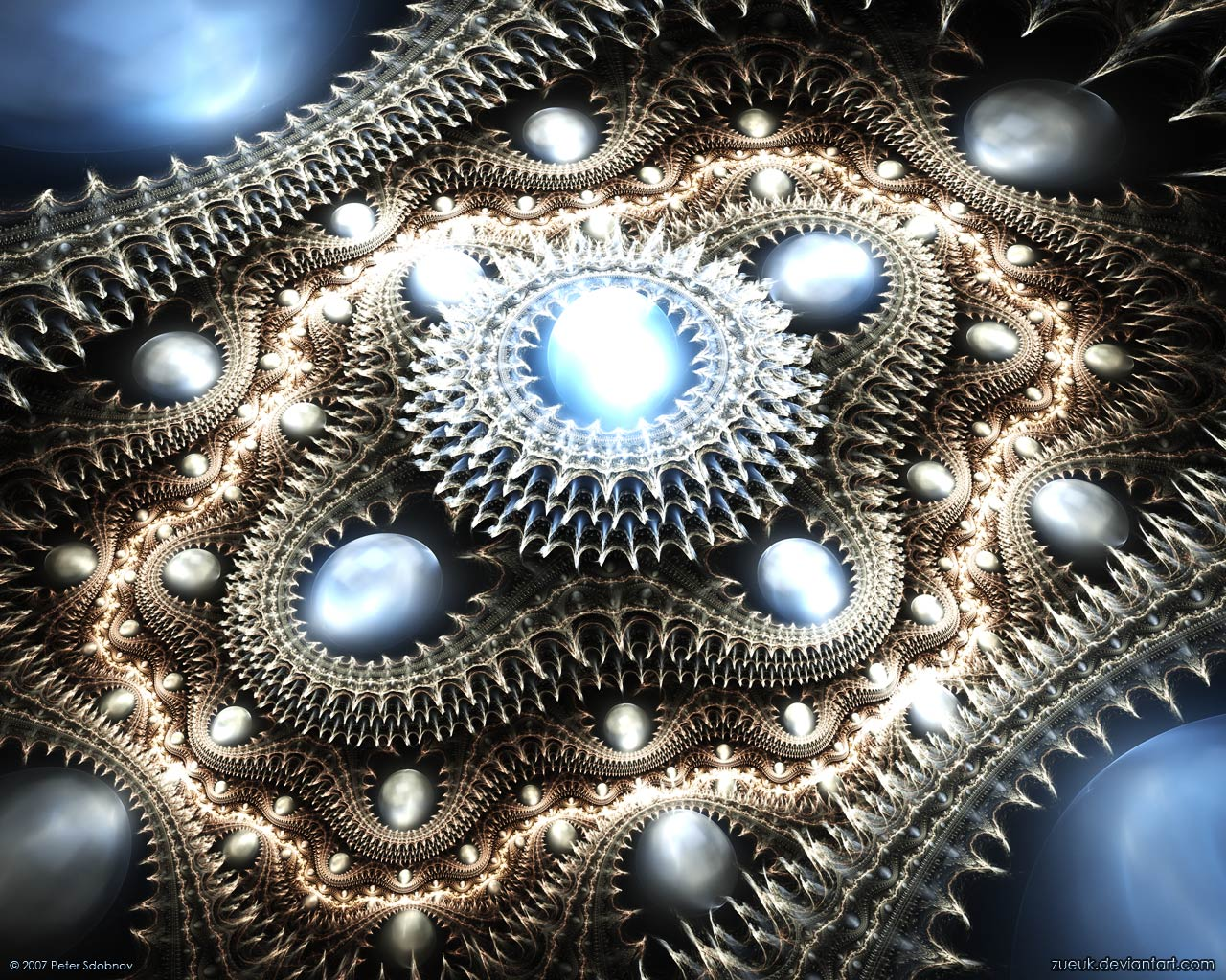 Beautiful Fractal Art - Kamino Saber