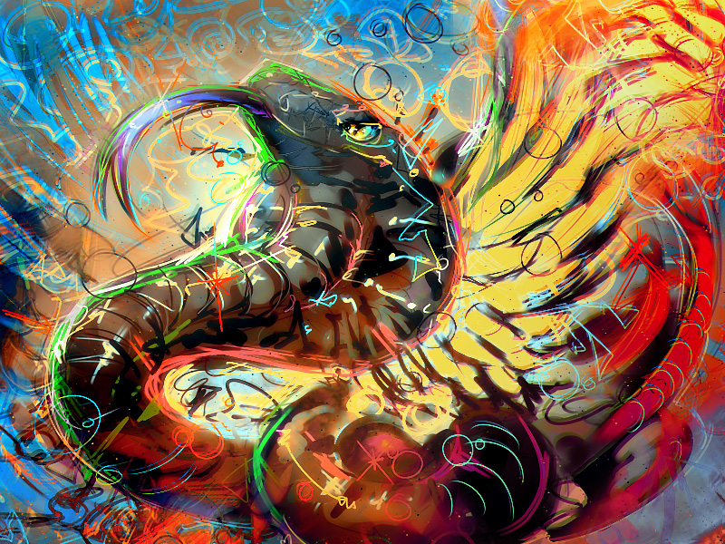 Take a Trip With These Psychedelic Artworks - Kamino Saber