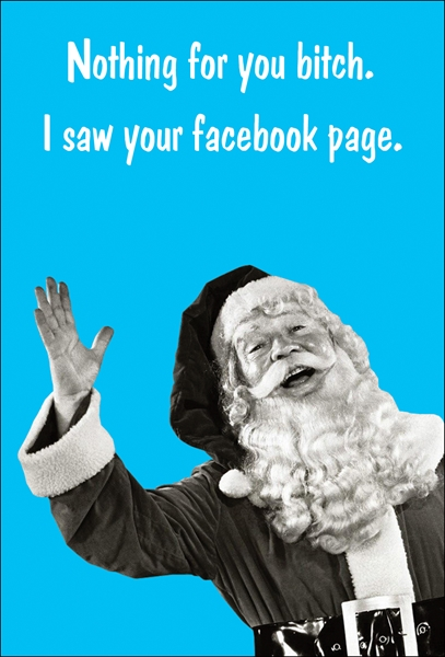 Rude & Offensive Christmas Cards - Design Mash