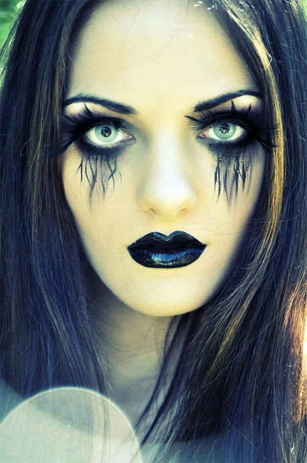 Awesome Halloween And Horror Makeup | Girly Design Blog