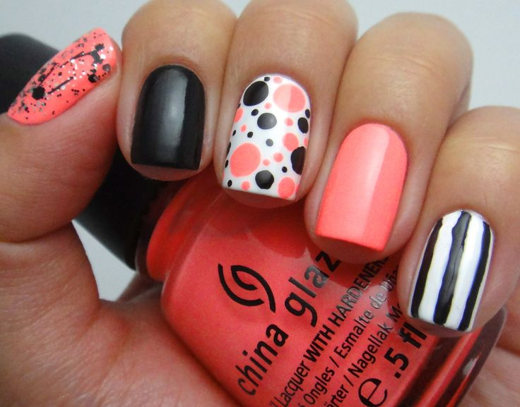 More Cute And Creative Nail Art Designs Girly Design Blog