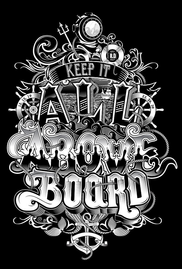 Great Examples of Typography Design - Check out more at Girly Design Blog