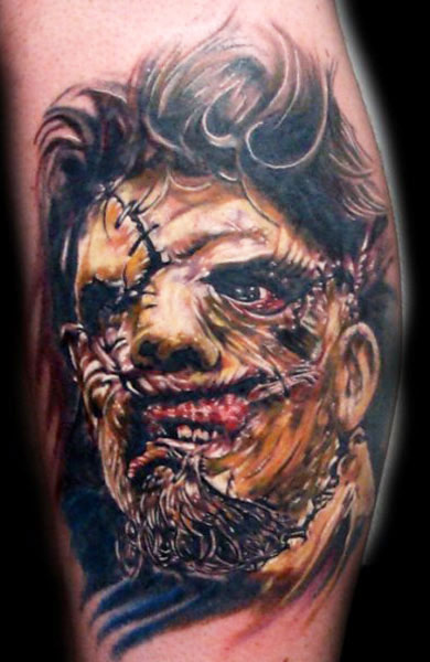 creepy horror tattoos girly design blog