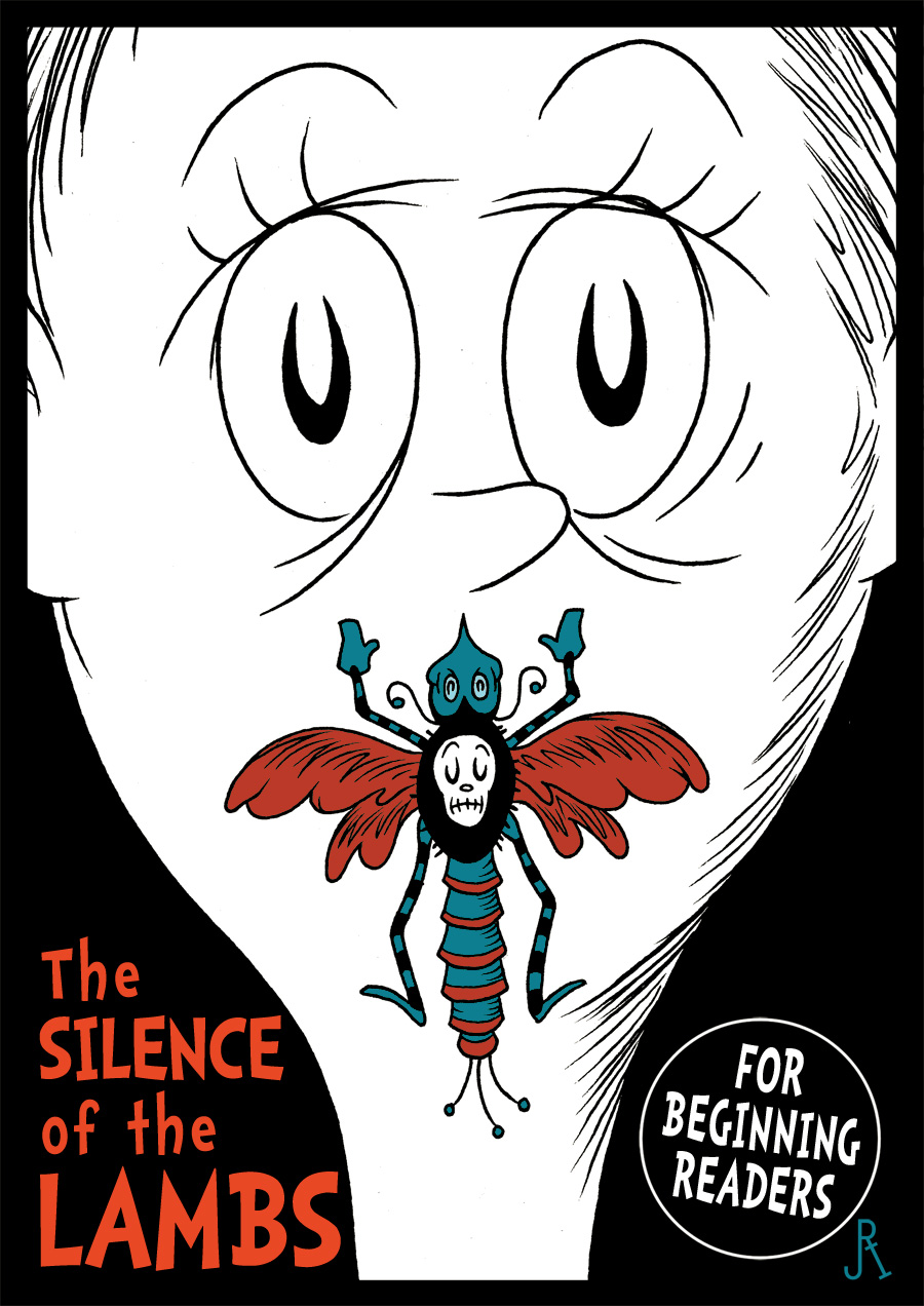 Classic Movies Re-Imagined as Dr. Seuss Books - Girly Design Blog