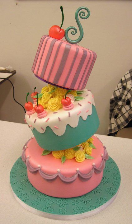 Awesome Cake Designs Too Good To Eat Girly Design Blog