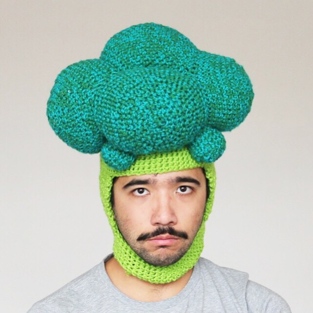 The Hilarious Crochet Food Hats of ChiliPhilly - Girly Design Blog