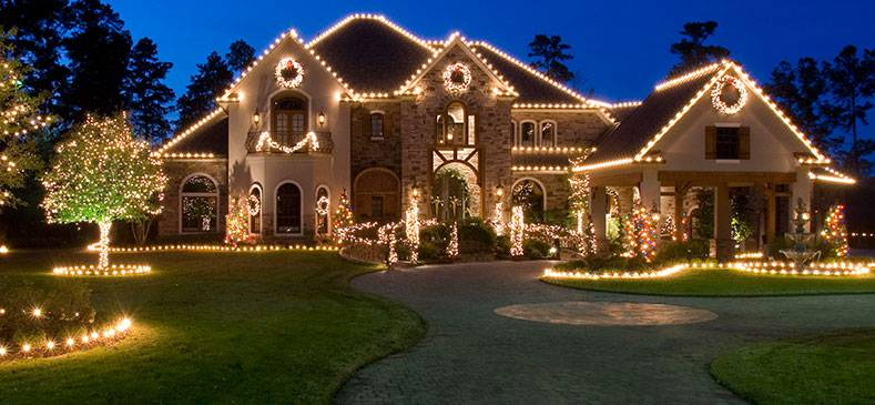 Let it glow colourful christmas lights displays girly for Texas decorations for the home