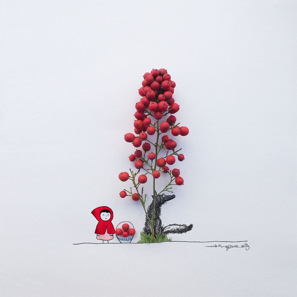 Art Made with Everyday Objects by Jesuso Ortiz - Girly Design Blog