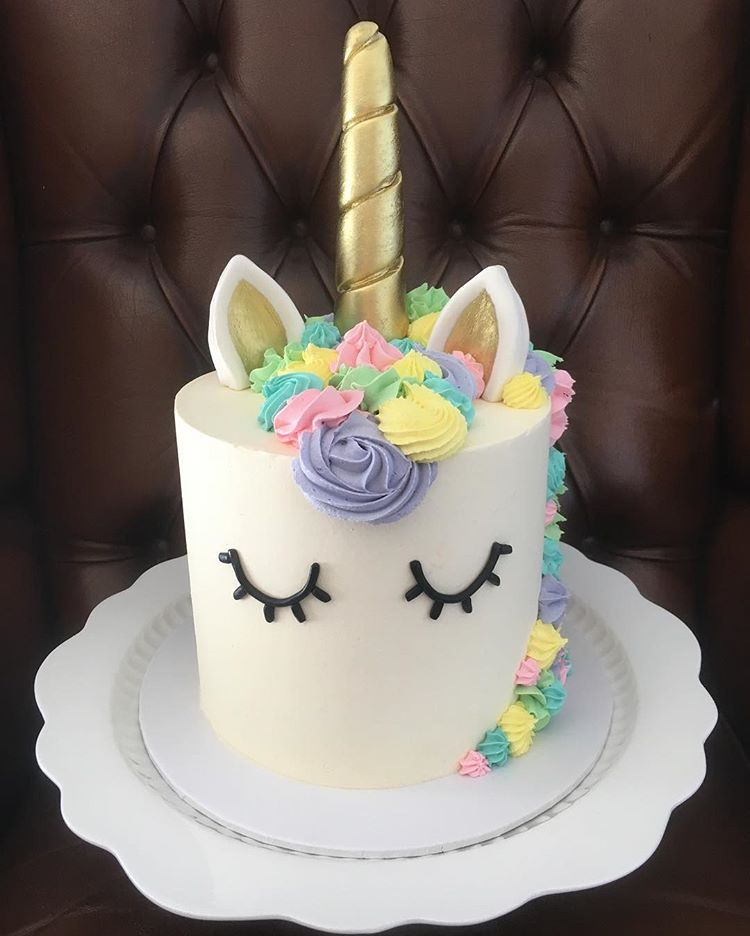 25 Magical Unicorn Cakes | Girly Design Blog