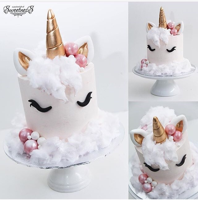 25 Magical Unicorn Cakes Girly Design Blog